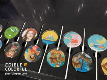 sinojoinsun edible paper lollipop
