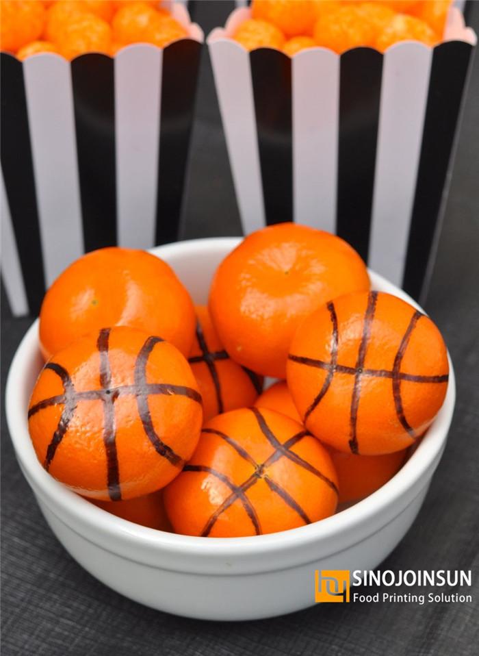 sinojoinsun edible pen draw basketball