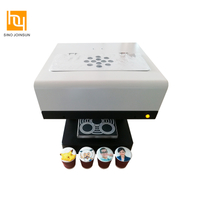 3D Digital Cake & Coffee Printer HY3423 with 4 Cups