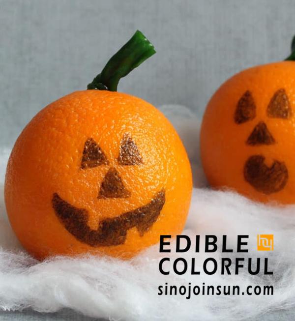healthy halloween treats orange_副本