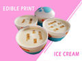 What's New in Ice Cream Decoration Industry? Edible Printing!