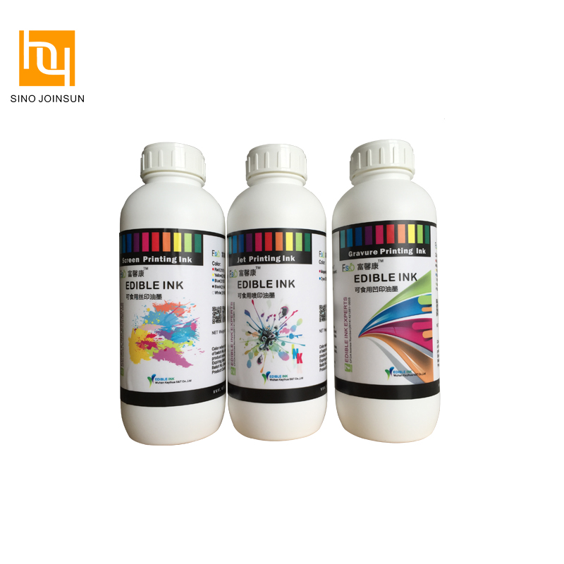 Safe Edible Pad Printing Ink for Food & Medicine Printing