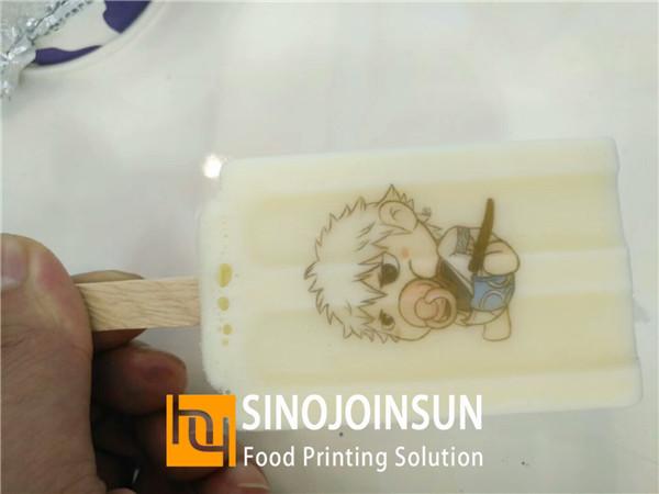 sinojoinsun online food inkjet printer print ice cream 7