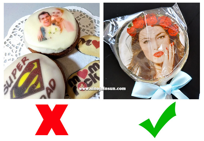 edible images comparison